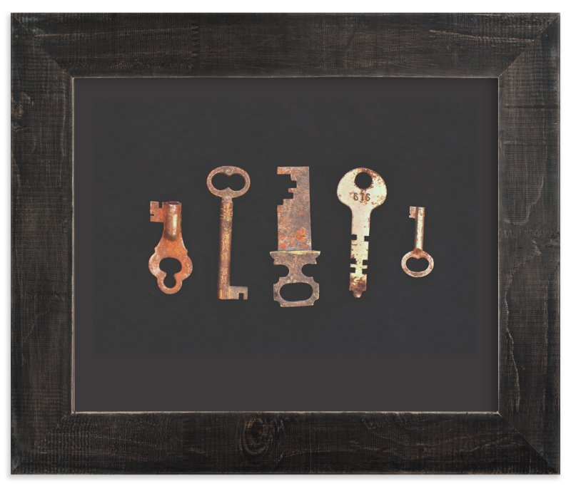 """""""Unlock the Past"""" - Art Print by Honey Madison in beautiful frame options and a variety of sizes."""