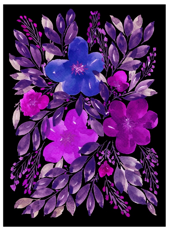 """""""black is beauty_3"""" - Art Print by aticnomar in beautiful frame options and a variety of sizes."""