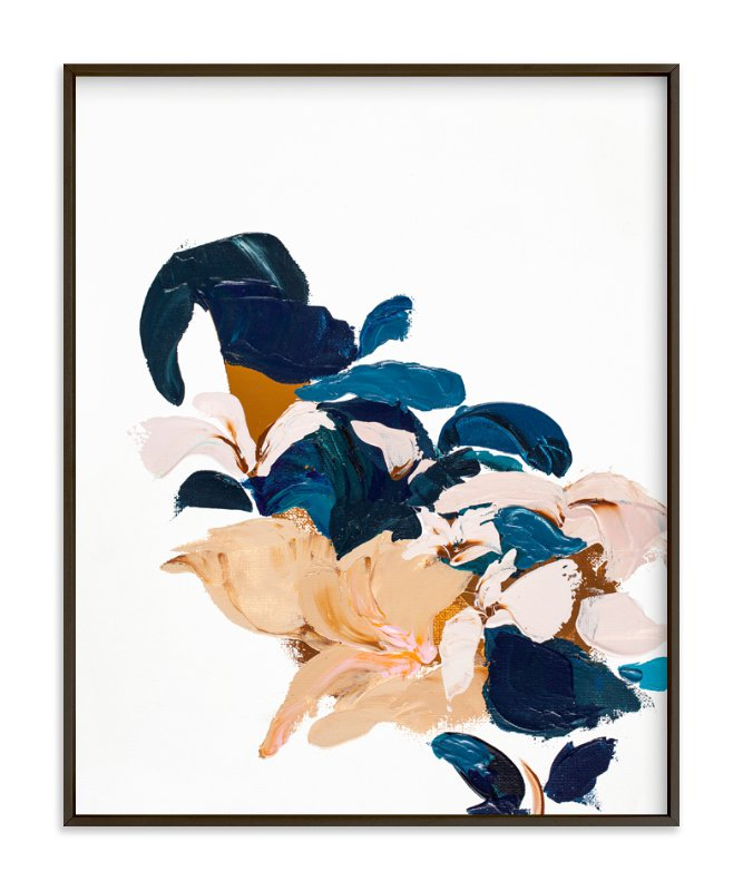 """""""Abstract Botanical"""" - Art Print by Caryn Owen in beautiful frame options and a variety of sizes."""