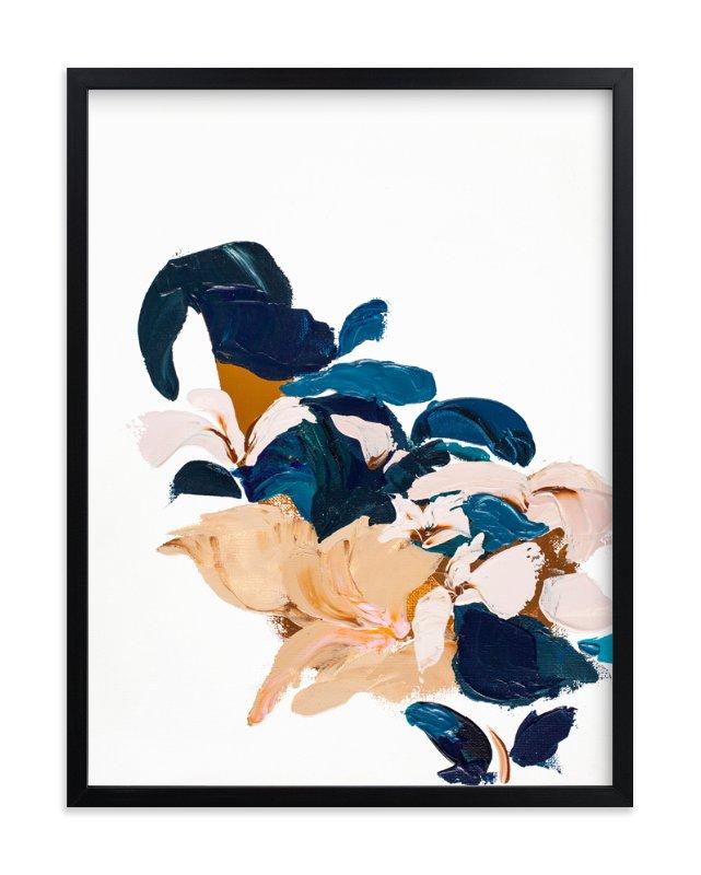 Abstract Botanical Marketplace Art Print
