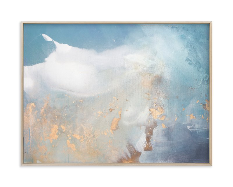 """undertow - horizontal"" - Art Print by Julia Contacessi in beautiful frame options and a variety of sizes."
