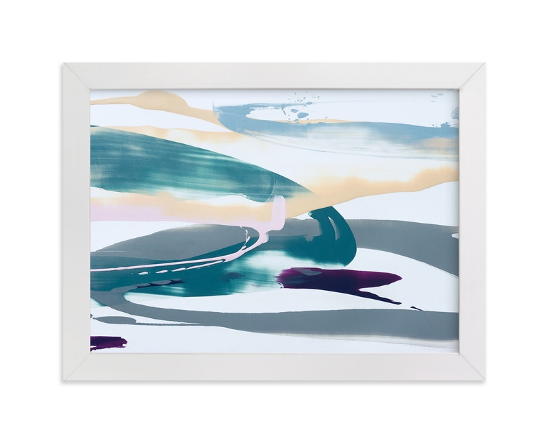 """Divine Antics"" - Art Print by Misty Hughes in beautiful frame options and a variety of sizes."