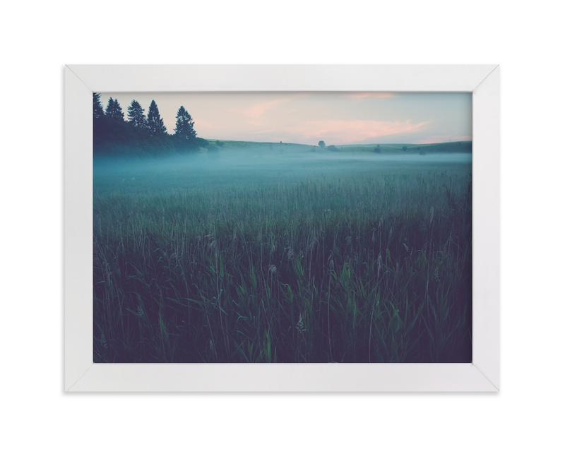 """Mystery II"" - Art Print by Lying on the grass in beautiful frame options and a variety of sizes."