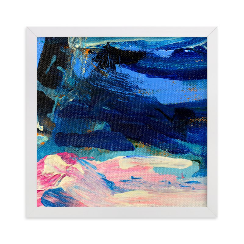 """""""Stormy"""" - Art Print by Pooja Pittie in beautiful frame options and a variety of sizes."""