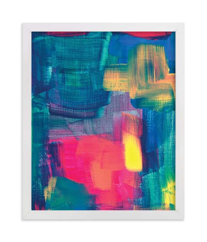 """""""Abstract Painting3"""" - Art Print by aticnomar in beautiful frame options and a variety of sizes."""