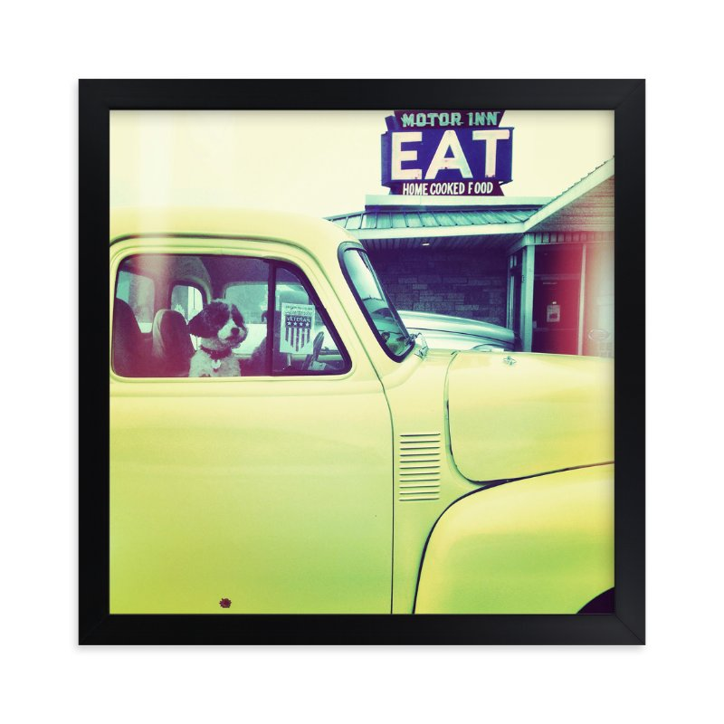 """Pit Stop"" - Art Print by Misty Hughes in beautiful frame options and a variety of sizes."