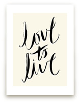 love to live by pottsdesign