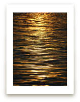 Gold on the Water 2 by Jan Kessel