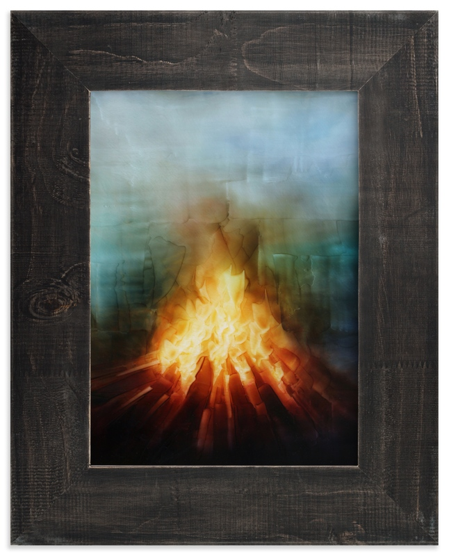 """Your Fires"" - Art Print by Brian Sostrom in beautiful frame options and a variety of sizes."
