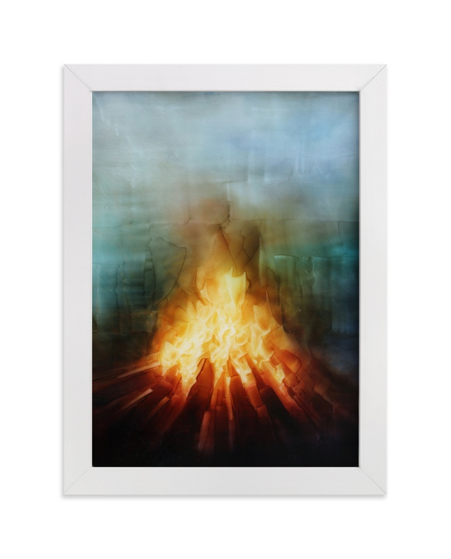 """""""Your Fires"""" - Art Print by Brian Sostrom in beautiful frame options and a variety of sizes."""