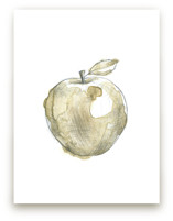 Eat More Fruits - Apple by Susanne Kasielke