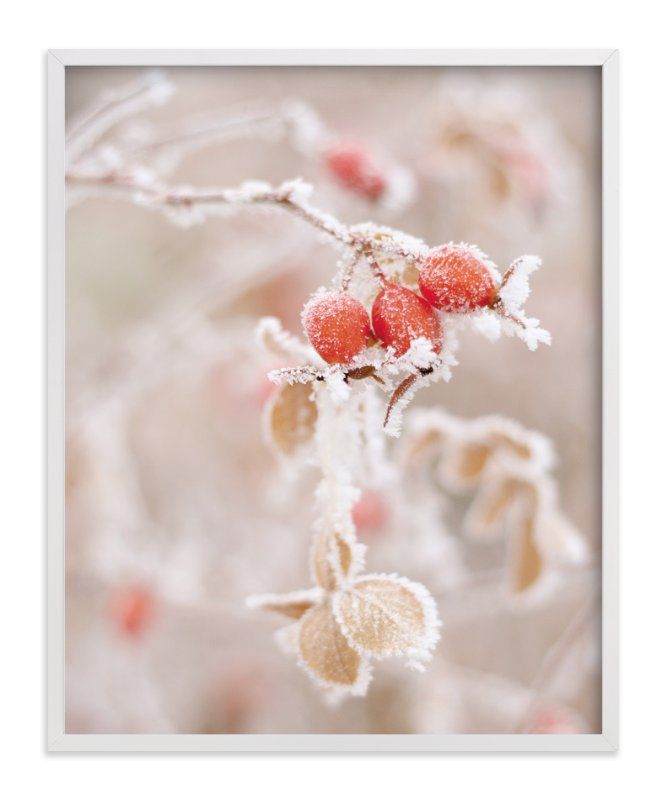 """""""Frozen Berries"""" - Art Print by Sharon Rowan in beautiful frame options and a variety of sizes."""