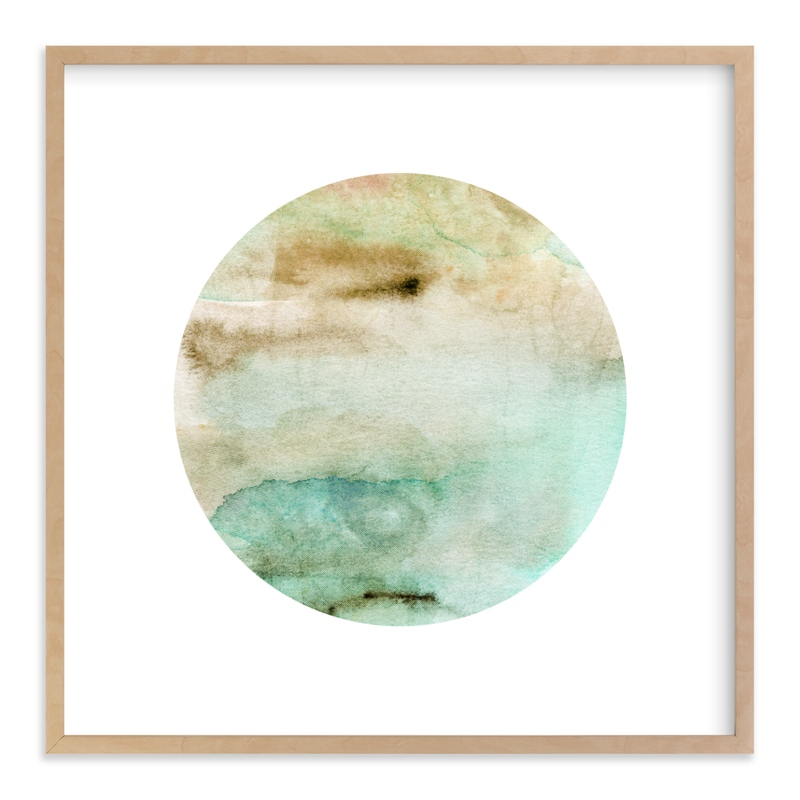 """""""Mystery Planet #1"""" - Art Print by Field and Sky in beautiful frame options and a variety of sizes."""