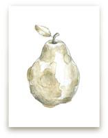 Eat More Fruits - Pear by Susanne Kasielke