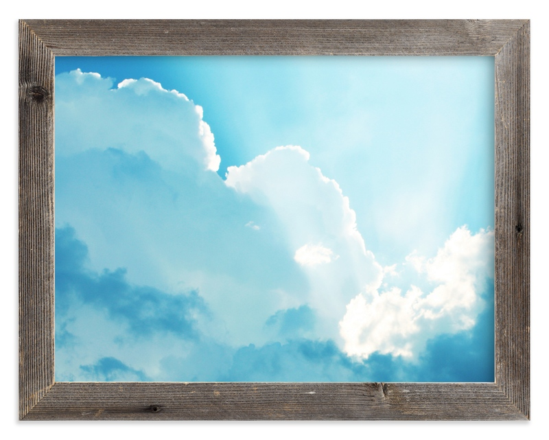 """Through it All (Clouds)"" - Art Print by Loree Mayer in beautiful frame options and a variety of sizes."