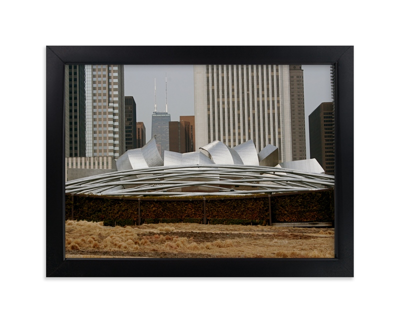 """""""Millennium Curve"""" - Art Print by AJD in beautiful frame options and a variety of sizes."""