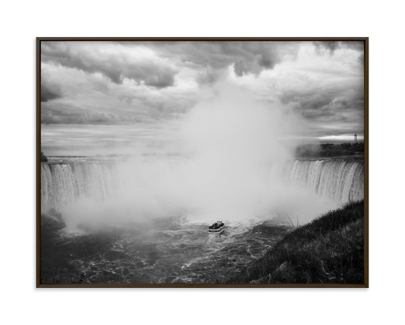 """Niagara"" - Art Print by Catherine Segura in beautiful frame options and a variety of sizes."