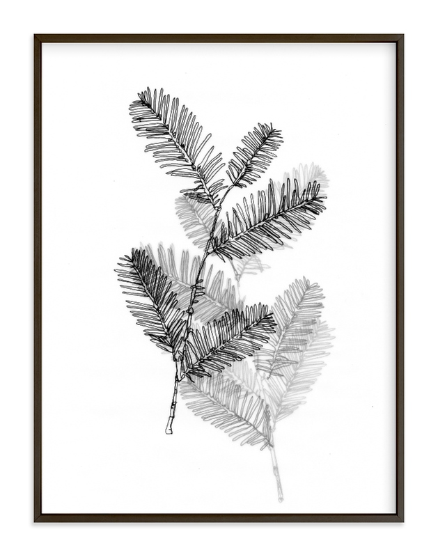 """""""Redwood"""" - Art Print by Ashleigh Ninos in beautiful frame options and a variety of sizes."""