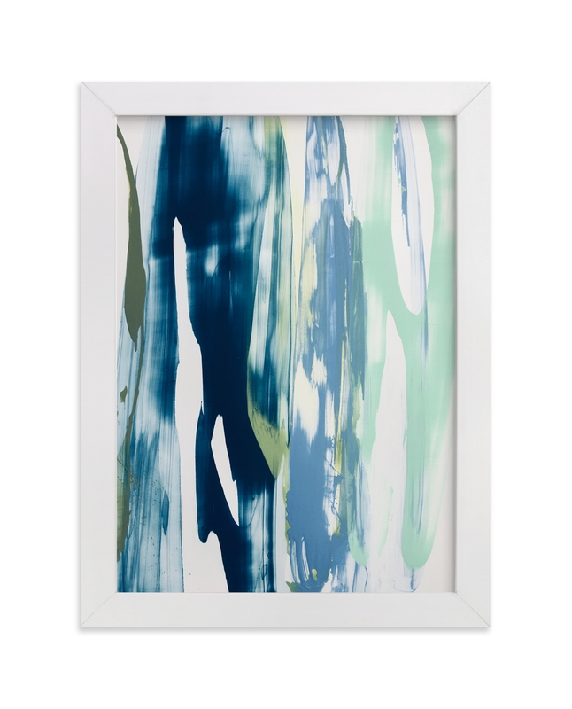 """Kyanite Absolute"" - Art Print by Misty Hughes in beautiful frame options and a variety of sizes."