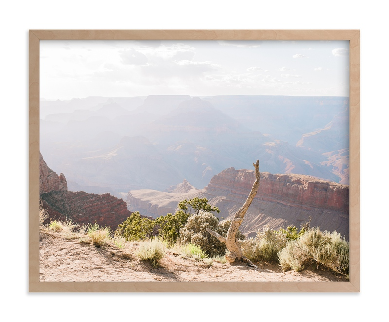 """Canyon Afternoon Light"" - Art Print by Anna Western in beautiful frame options and a variety of sizes."