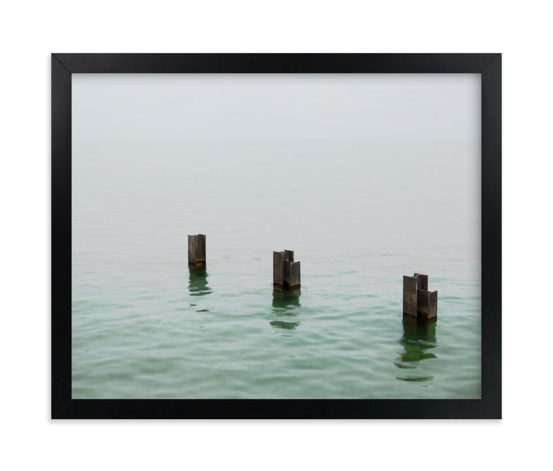 """""""Three in the sea"""" - Art Print by LemonBirch Design in beautiful frame options and a variety of sizes."""
