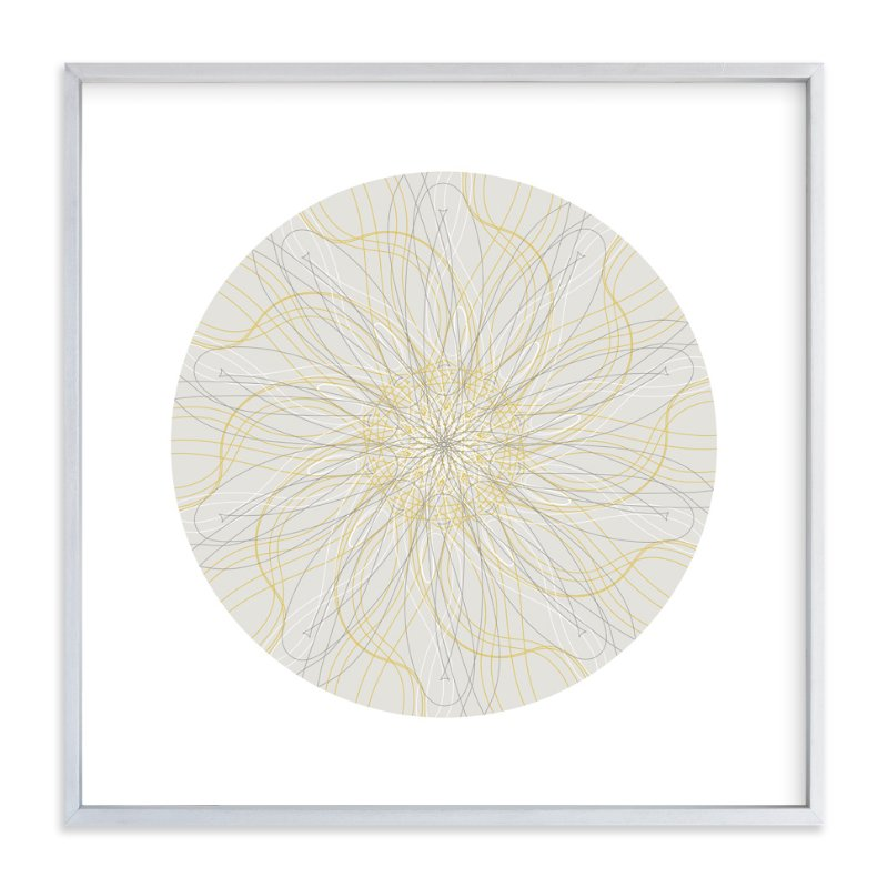 """Planet no.4 Dream on a Star"" - Art Print by Jan Shepherd in beautiful frame options and a variety of sizes."