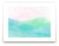 Pink Komodo by Artsy Canvas Girl Designs