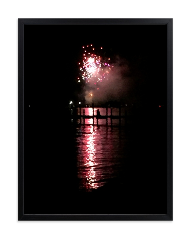 """""""Baby You're A Firework"""" - Art Print by Hannah Graham in beautiful frame options and a variety of sizes."""
