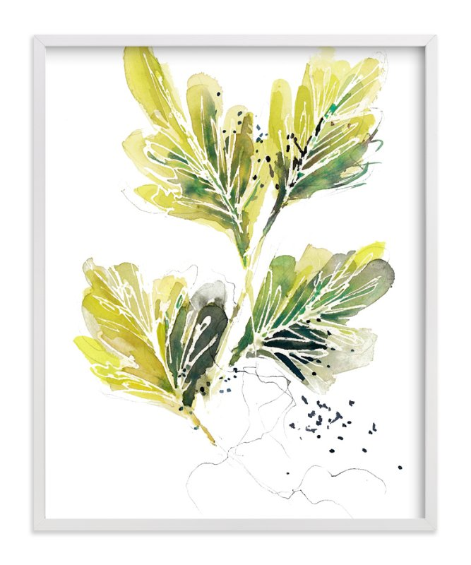 """Tangle"" - Art Print by Kelly Ventura in beautiful frame options and a variety of sizes."