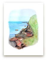Boats at Bondi by Haley Moore
