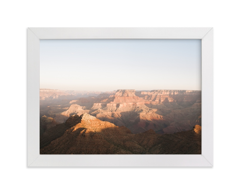 """Morning Light in the Canyon"" - Art Print by Anna Western in beautiful frame options and a variety of sizes."