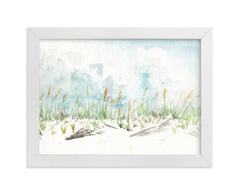 """""""Pensacola Dunes"""" - Art Print by Annie Moran in beautiful frame options and a variety of sizes."""