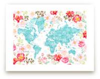 Floral watercolor world... by Rosana Laiz · Blursbyai