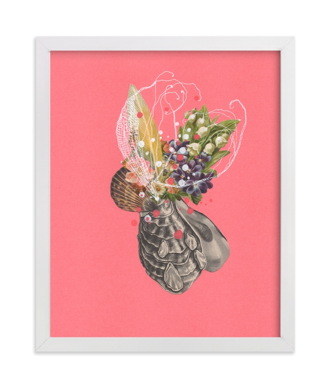 """""""Flowering Cluster"""" - Art Print by Jenny Brown in beautiful frame options and a variety of sizes."""