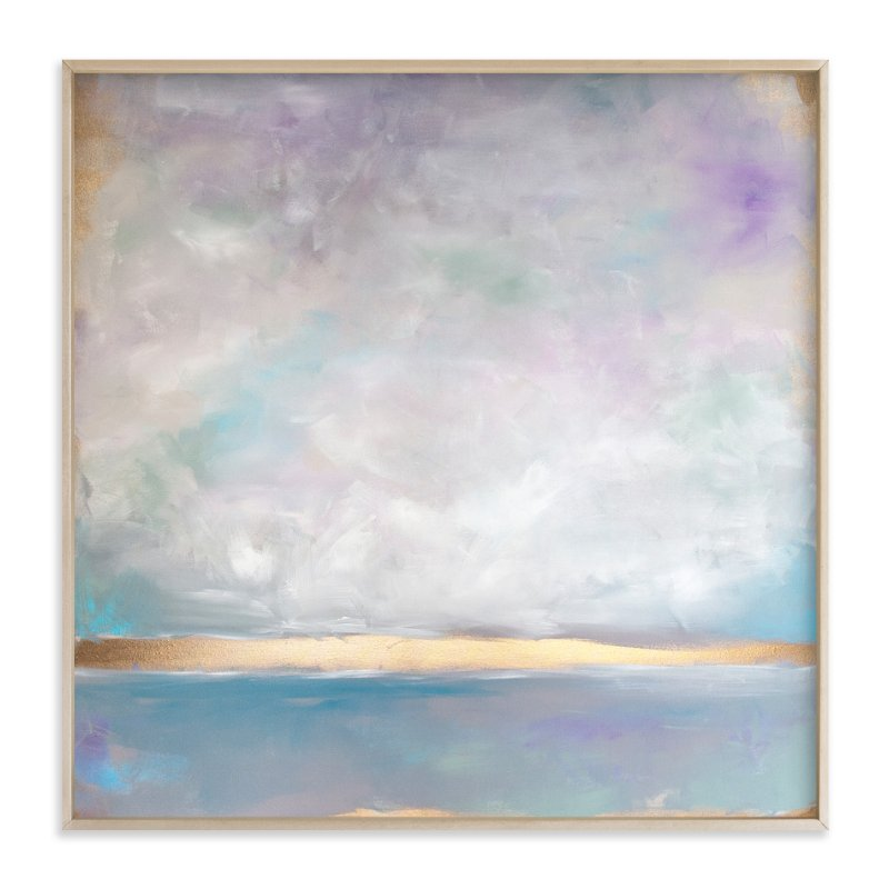 """""""Lavender Smoke"""" - Art Print by Julia Contacessi in beautiful frame options and a variety of sizes."""