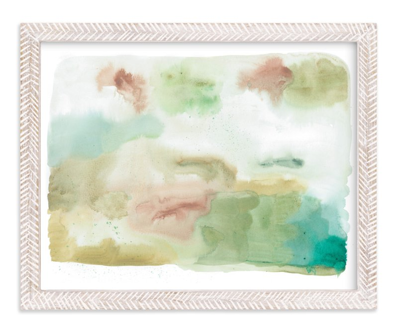 """Window Seat"" - Art Print by Erika Firm in beautiful frame options and a variety of sizes."