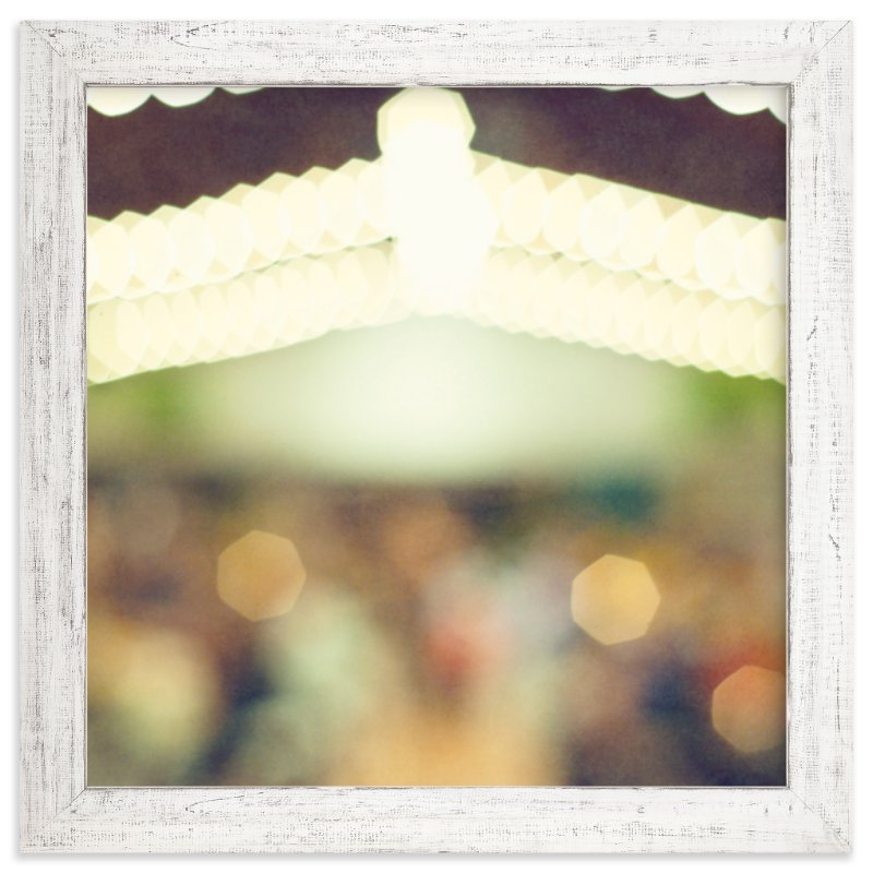 """""""String of Bokeh"""" - Art Print by Smile Peace Love in beautiful frame options and a variety of sizes."""