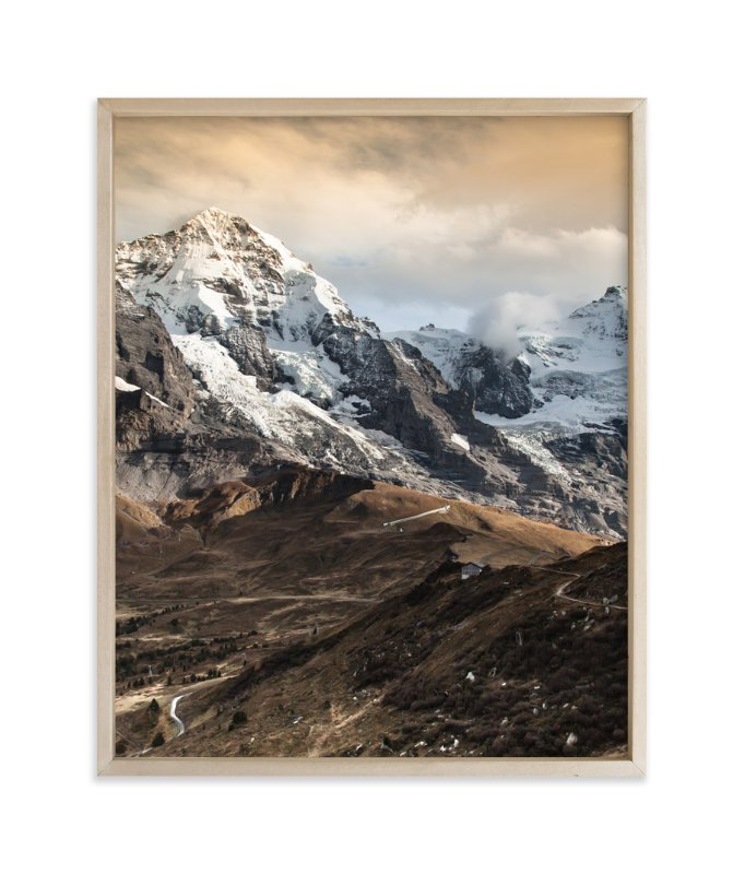 """On the ridge"" - Art Print by van tsao in beautiful frame options and a variety of sizes."