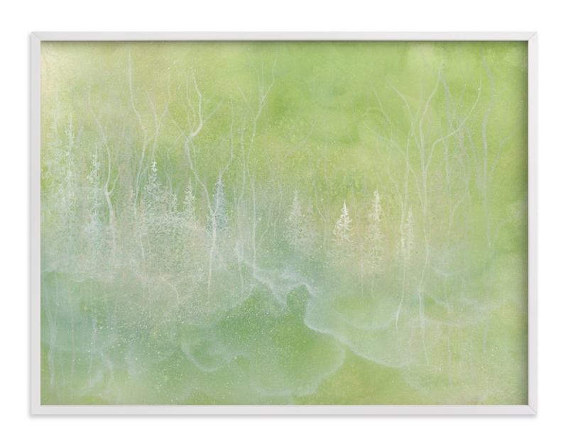"""""""Shade"""" - Art Print by Emily Magone in beautiful frame options and a variety of sizes."""