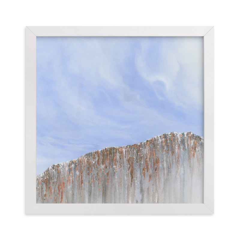 """Breath."" - Art Print by Emily Magone in beautiful frame options and a variety of sizes."
