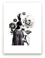 Black Peony by Lauren Matsumoto