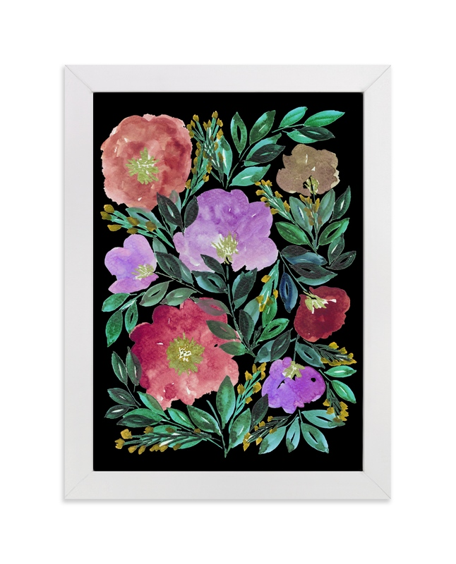 """""""beauty is black_4"""" - Art Print by Ramoncita Campo in beautiful frame options and a variety of sizes."""