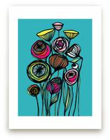 Alcanena Floral by Gill Eggleston