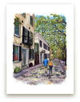 Stroll under the Live Oaks Wall Art Prints