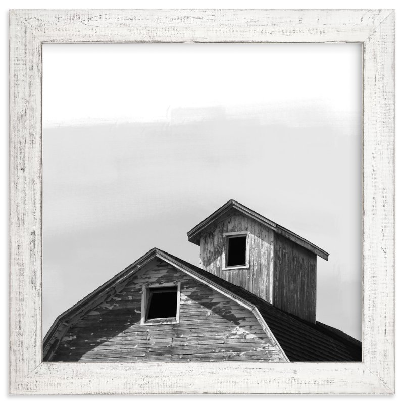 """Salvage Slate Barn Series 3"" - Art Print by That Girl Studio in beautiful frame options and a variety of sizes."