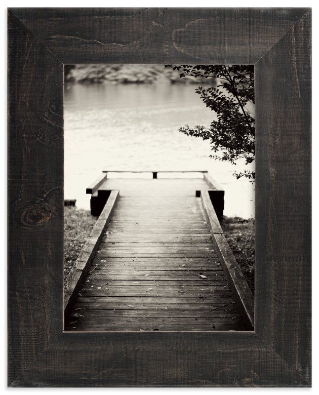 """The Dock"" - Art Print by Sara Heilwagen in beautiful frame options and a variety of sizes."