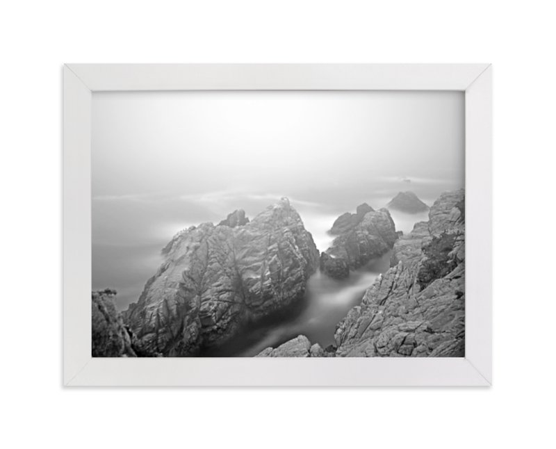 """""""Foggy Day in Point Lobos-2"""" - Art Print by NSMARK in beautiful frame options and a variety of sizes."""