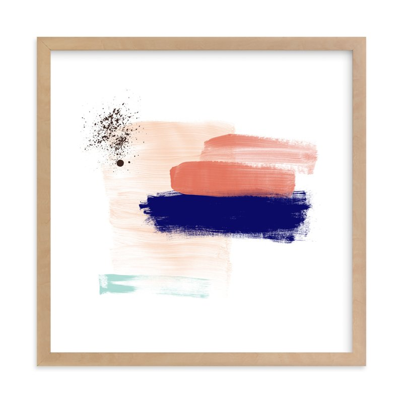 """""""Abstract Mind"""" - Art Print by Juliana Zimmermann in beautiful frame options and a variety of sizes."""
