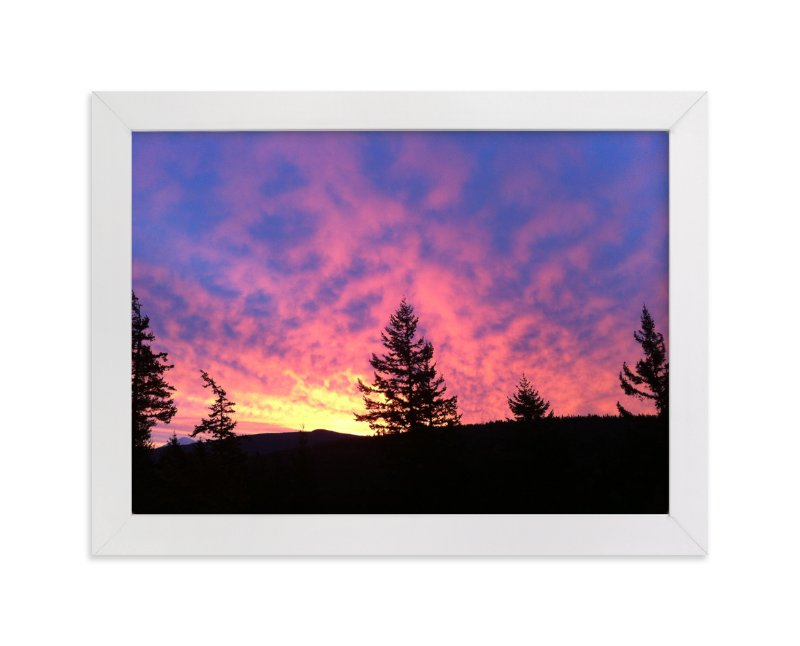 """""""Dawn Sky"""" - Art Print by Jan Kessel in beautiful frame options and a variety of sizes."""