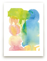 Floating Color Globes by Deborah Velasquez